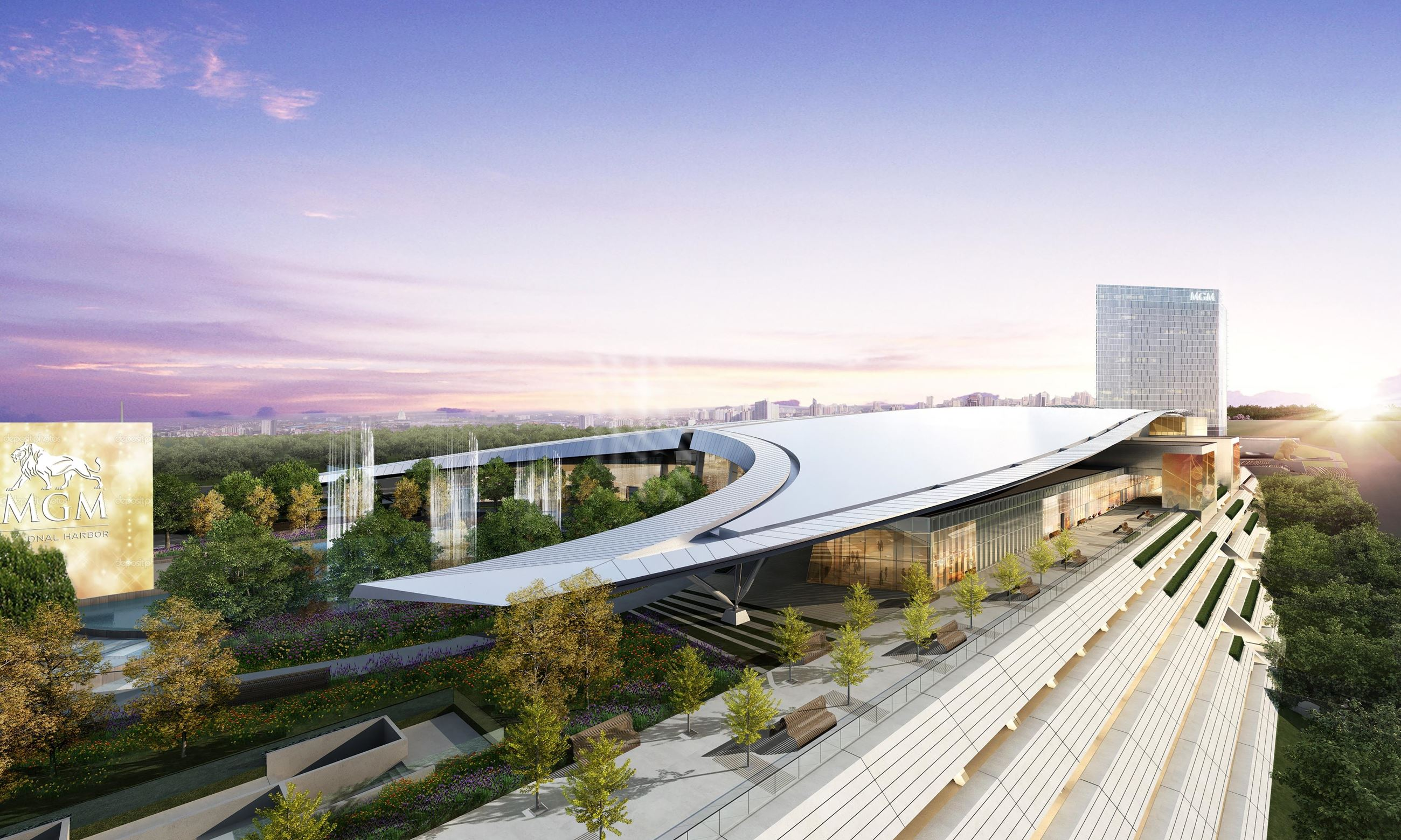 Image of MGM National Harbor Rendering