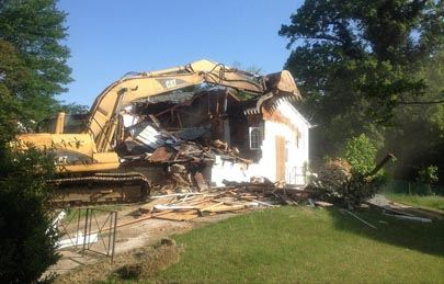 House After Razing