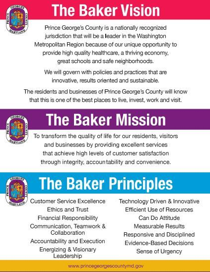 Image of Baker Vision, Mission, and Principles