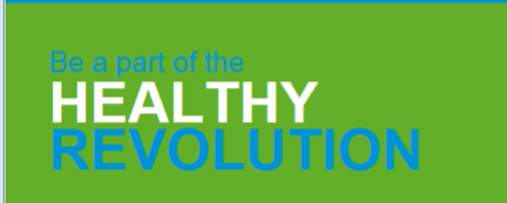 Image of Text - Be a Part of the Healthy Revolution