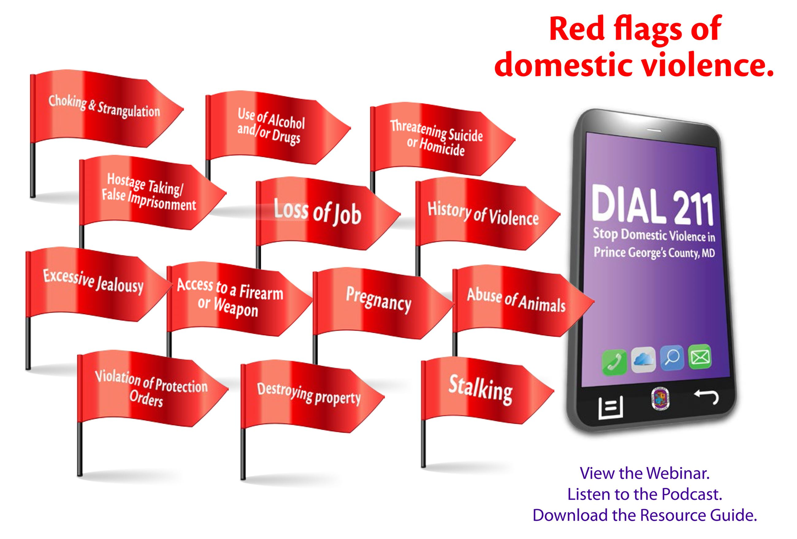 Red Flags of Domestic Violence