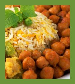 Image of Rice and Chickpeas