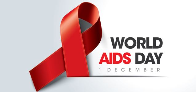 Image of World Aids Day website banner