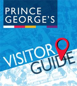 Visitor Guide Map graphic of PG County