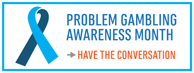 Problem Gambling Awareness Month Image
