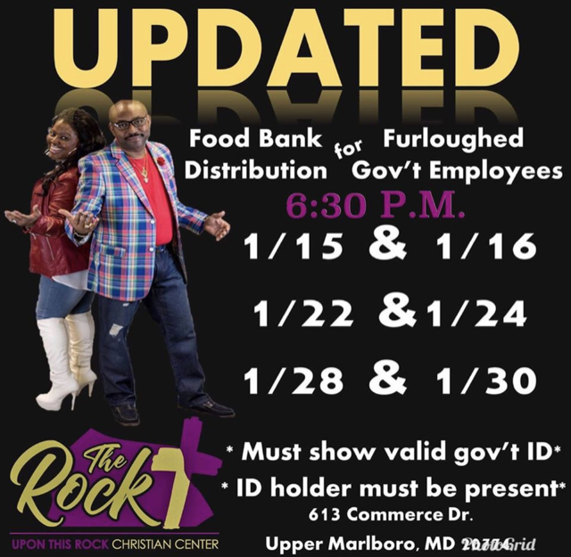 Food Bank Distribution For Furloughed Employees