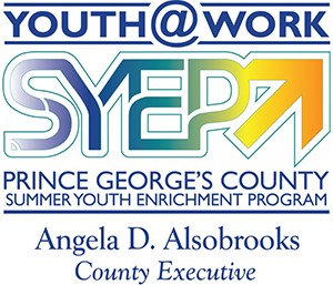Prince George's County Youth at Work Summer Youth Enrichment Program logo