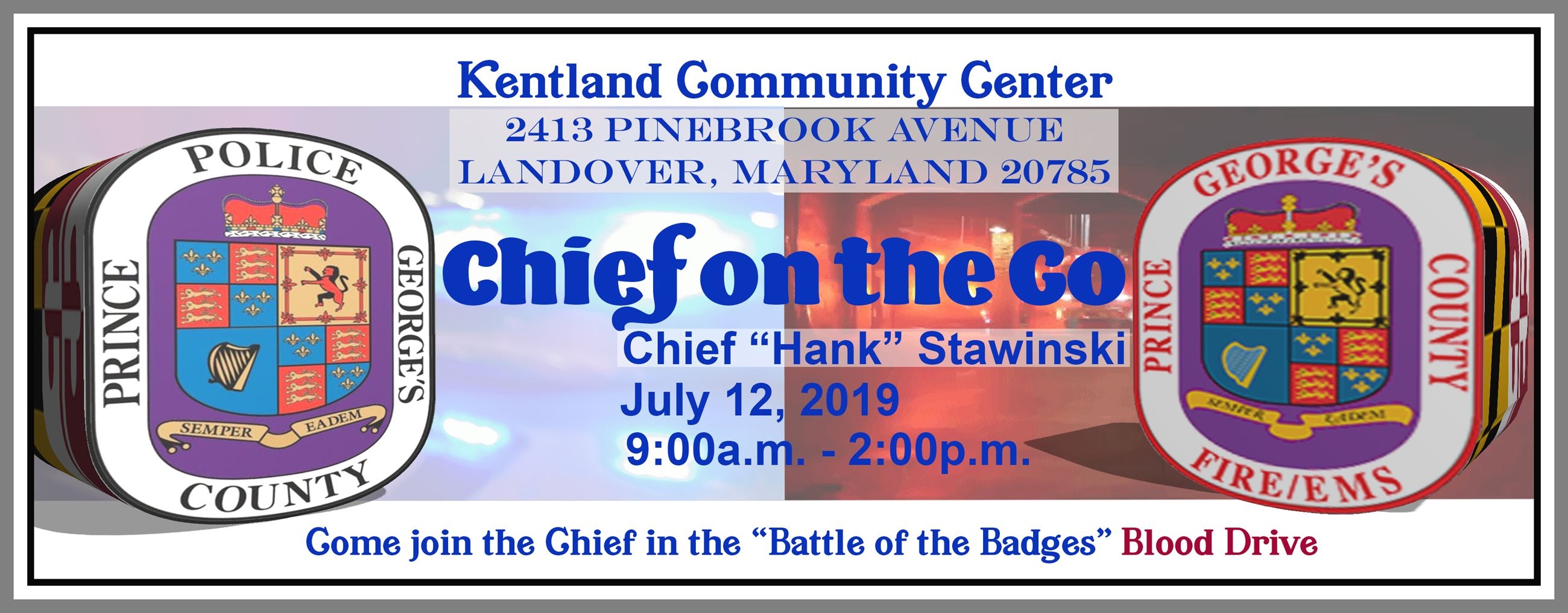 Battle of the Badges Blood Drive 2019
