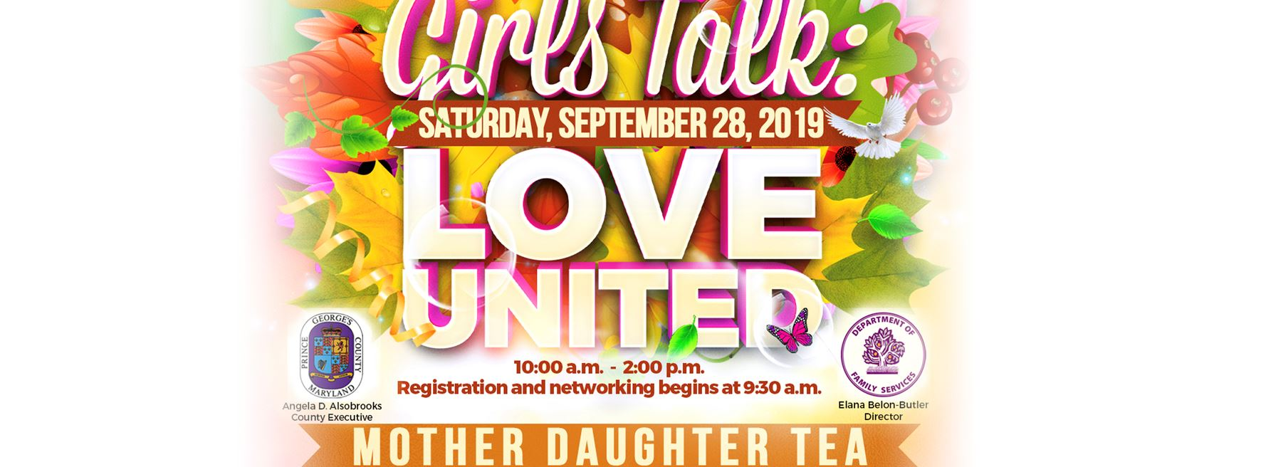 Mother Daughter Tea Banner
