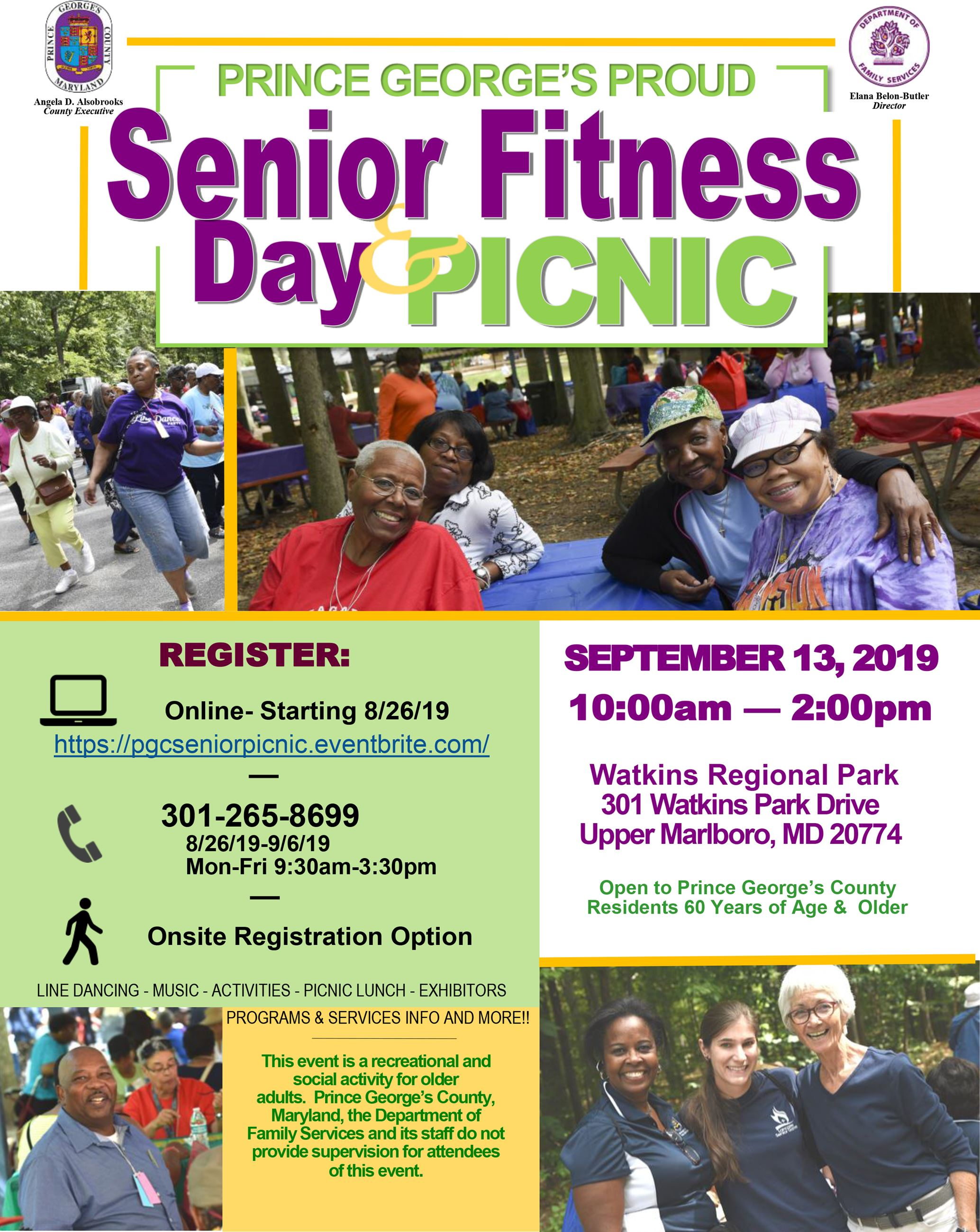 Senior Picnic Flyer 2019