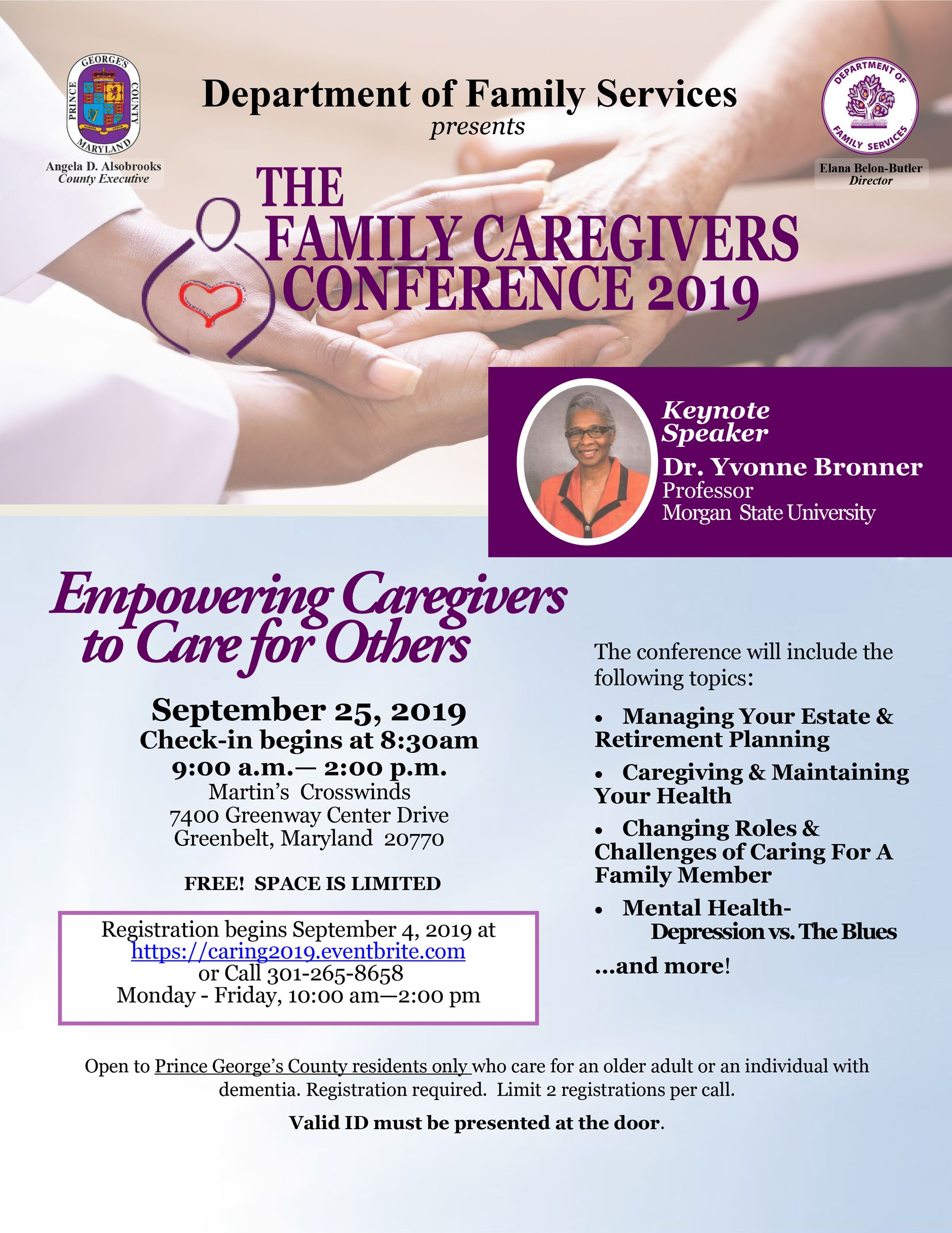 Caregiving Flyer 2019