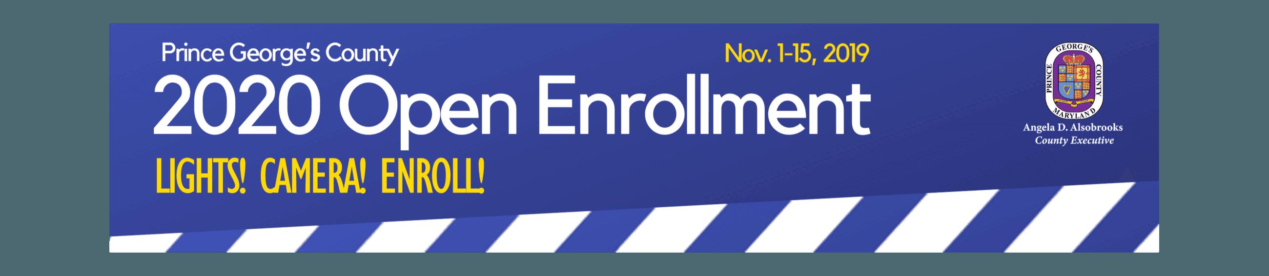 Open Enrollment 2020 Banner