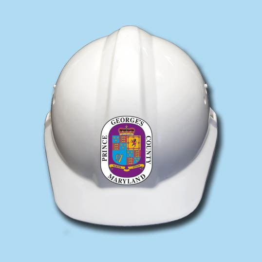 Hard Hat with County Seal