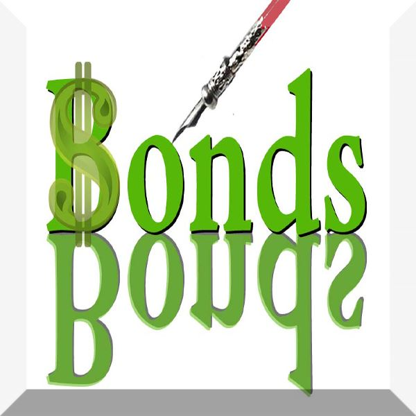 The word Bonds and pen
