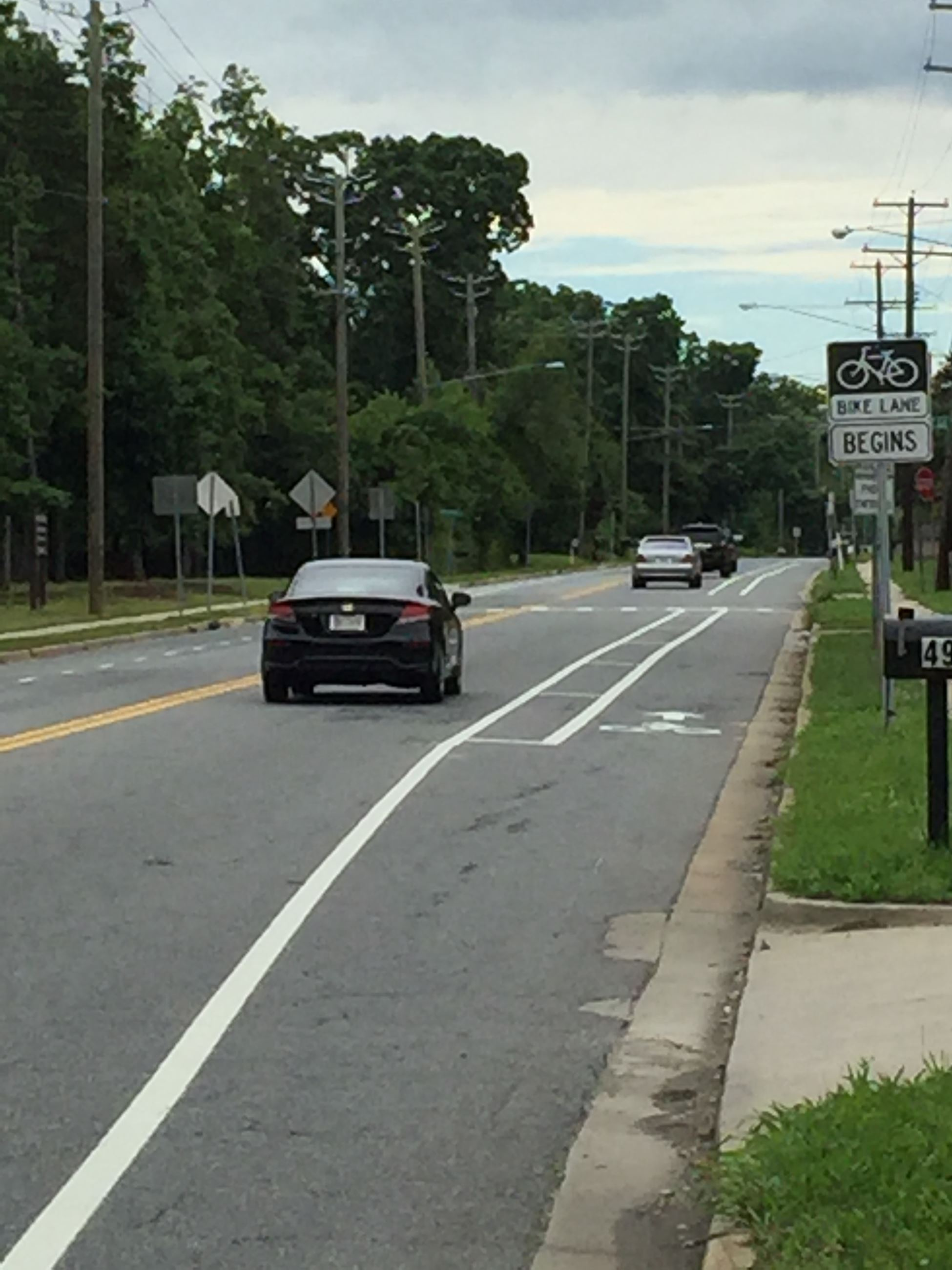 Wheeler Road Bike Lanes