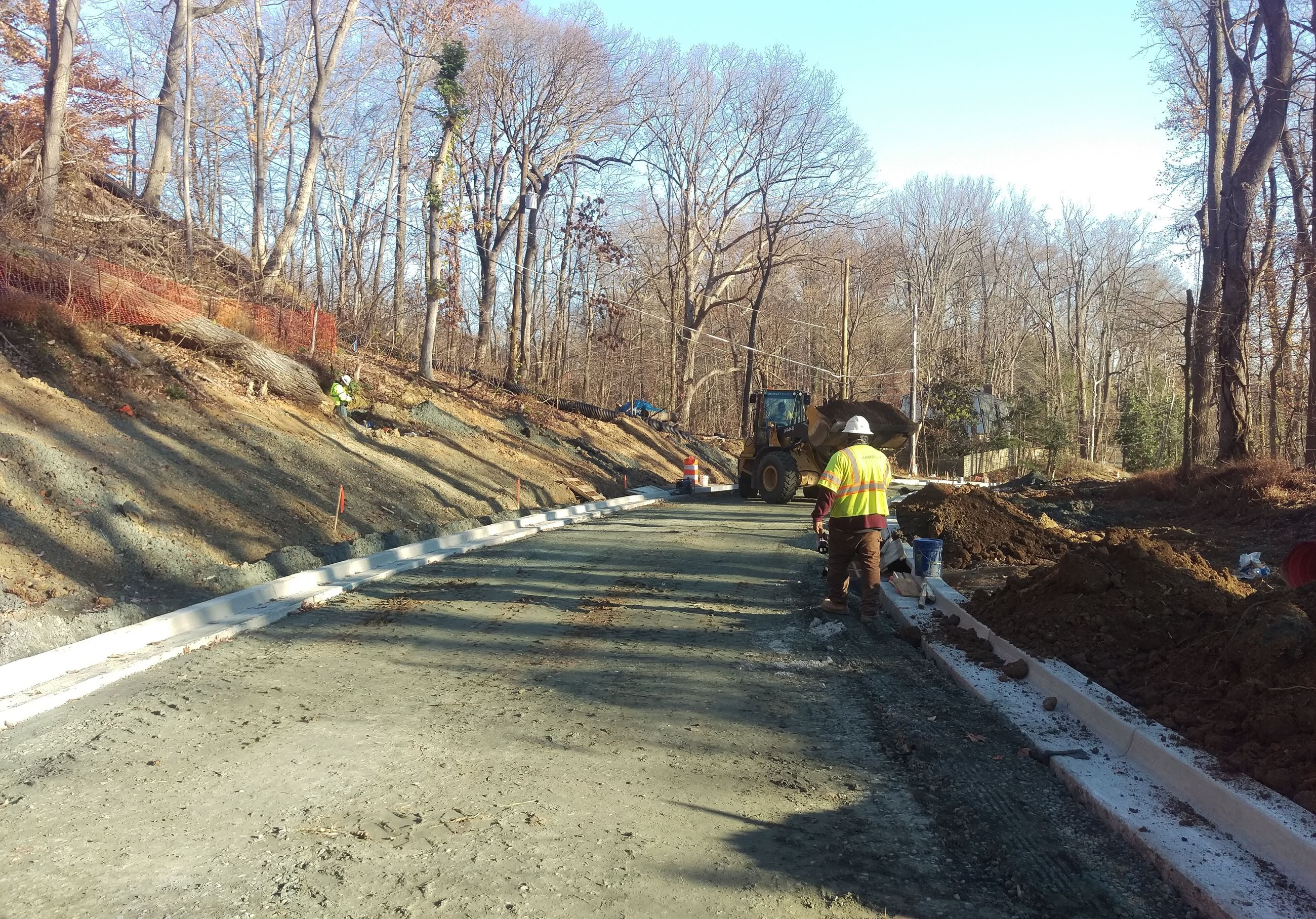 Slope Stabilized