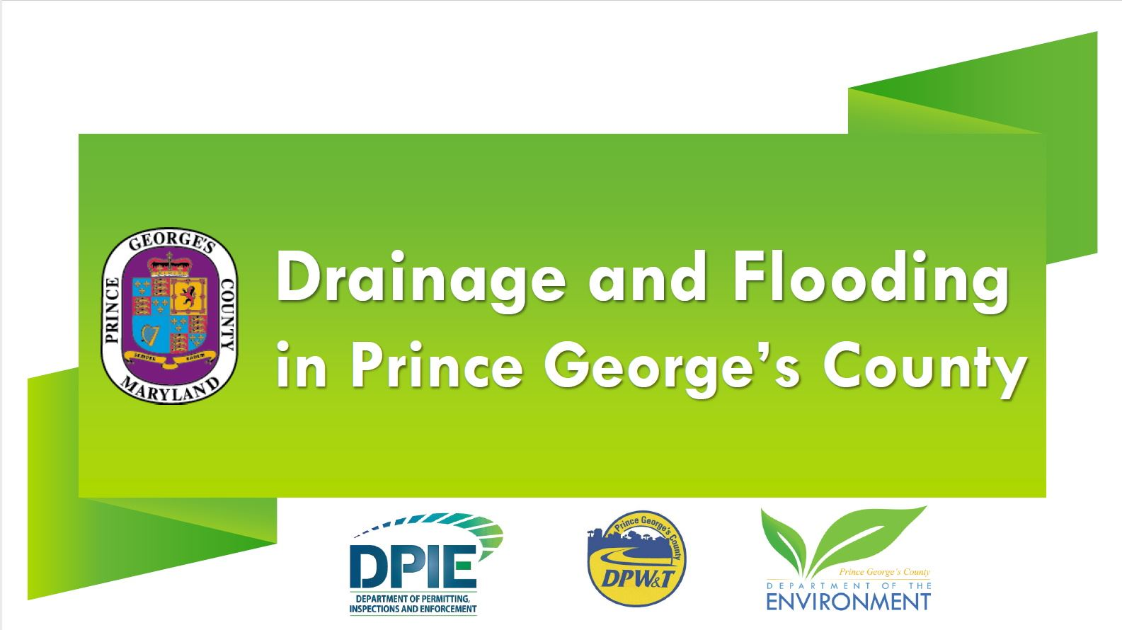 Drainage and Flooding
