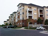 Exterior View of Apartments