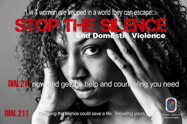 Stop the Silence, Help End Domestic Violence