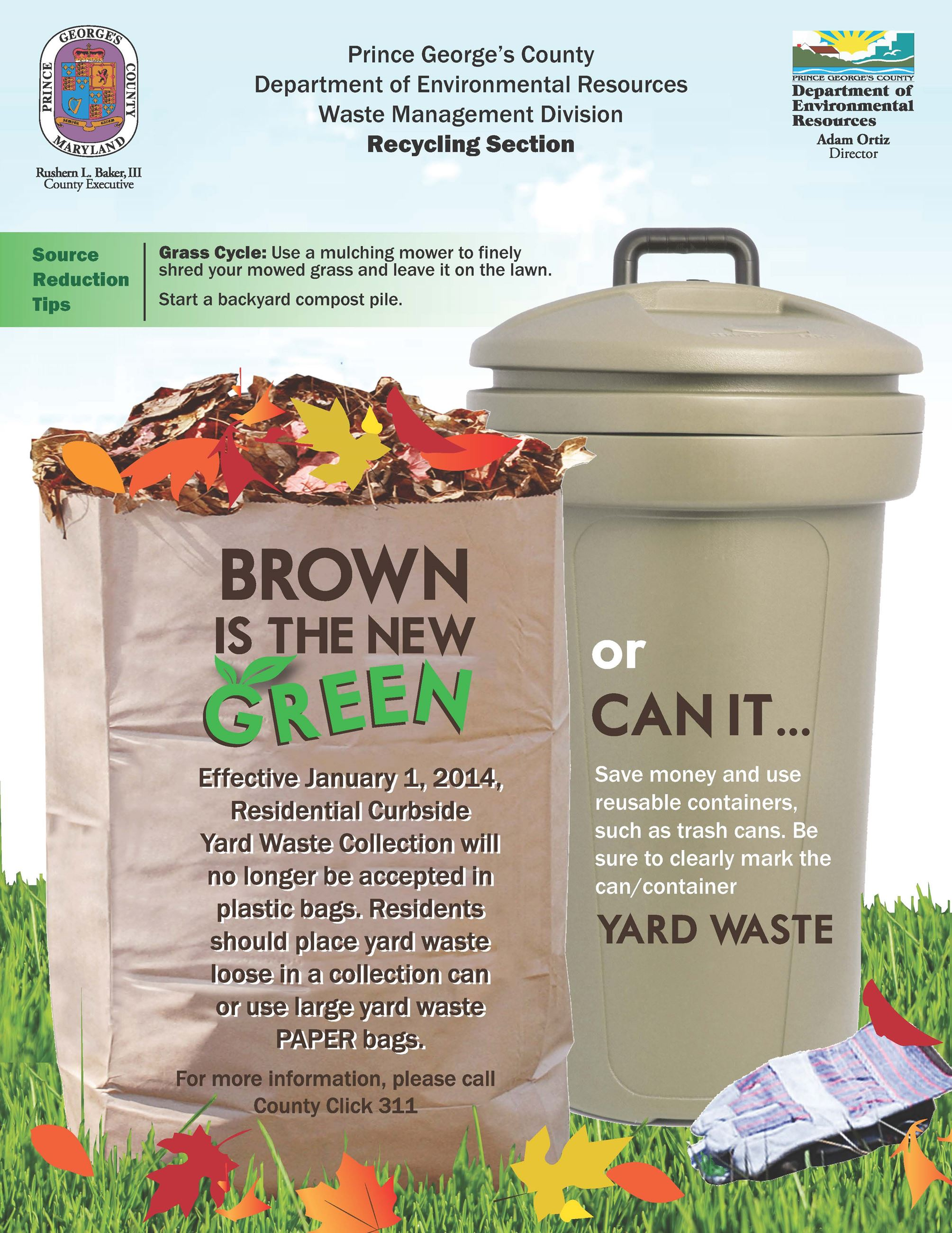 All Yard Waste Debris Collected By City Crews Is Taken To The Recycling