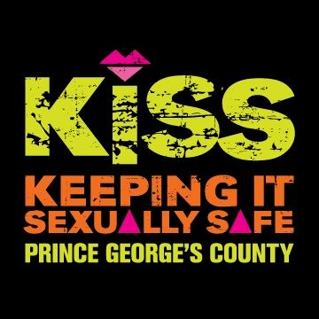 KISS Keeping It Sexually Safe Prince Georges County Logo