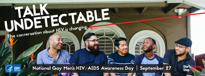 September 27 is National Gay Men's HIV/AIDS Awareness Day