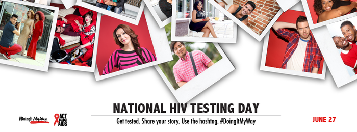June 27 is National HIV Testing Day