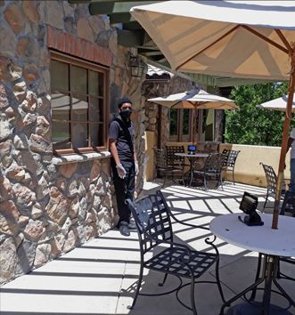Restaurant Outdoor Seating