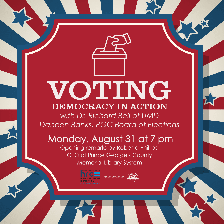 Voting Democracy in Action 1