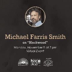 flyer for Michael Farris Smith November 9 2020 event