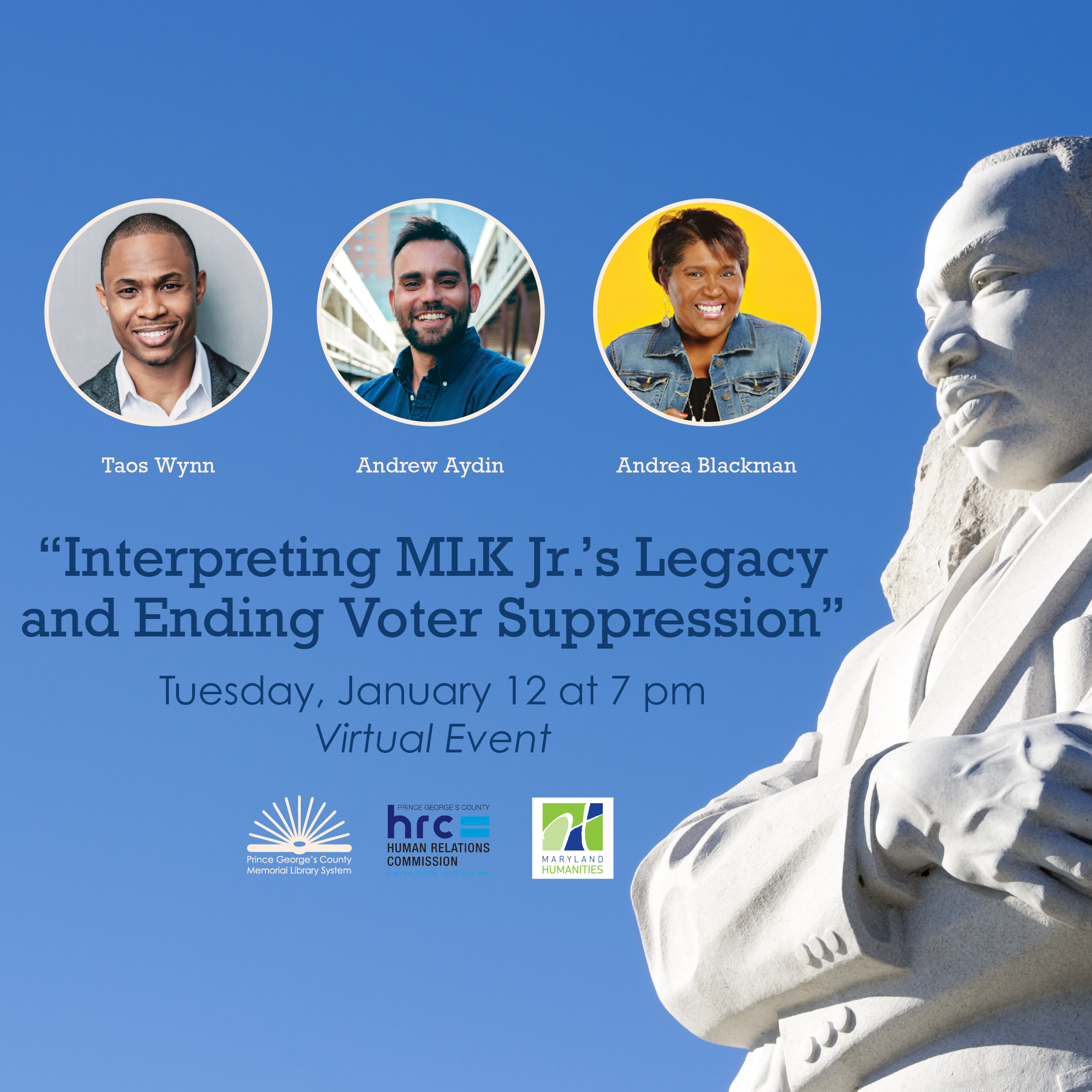 MLK Day event 2021 square
