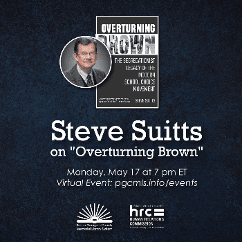 Flyer for Steve Suits event