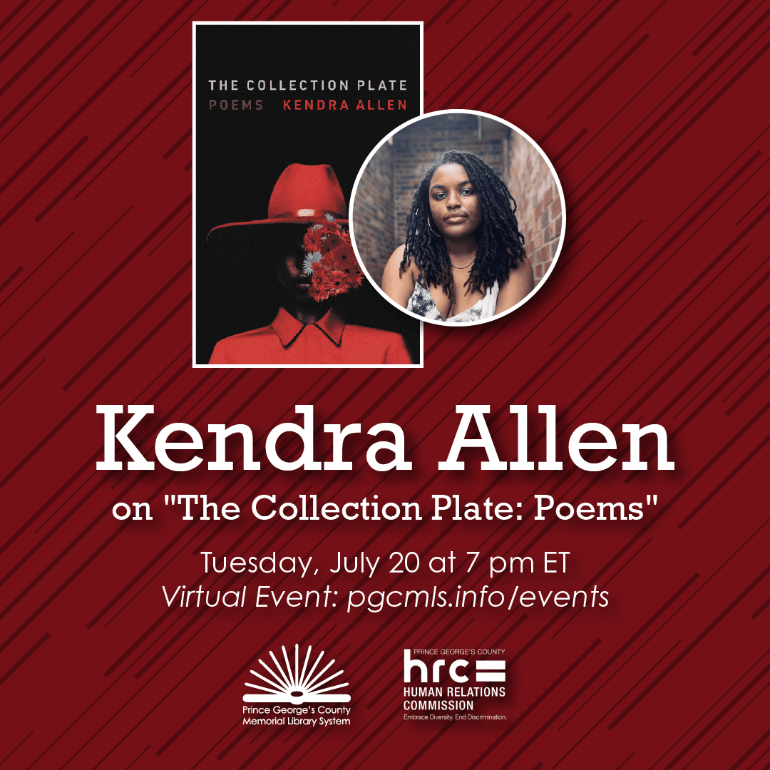 Flyer for Kendra Allen event