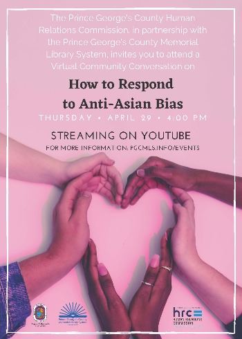 Community Conversation on How to Respond to Anti-Asian Bias