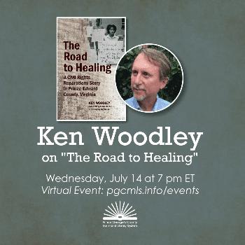 Flyer for Ken Woodley July 14th
