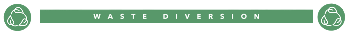 waste diversion banner website
