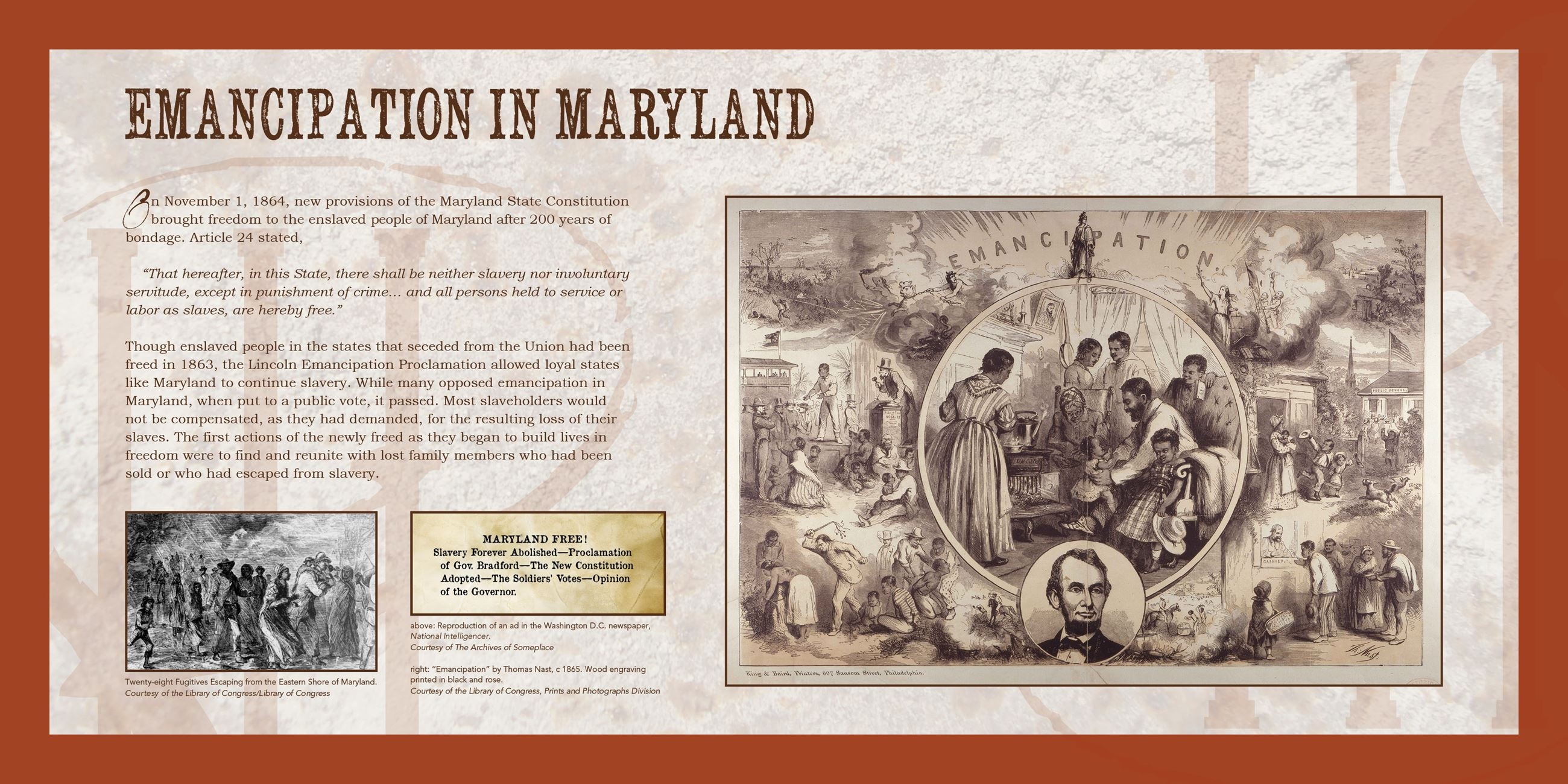 Emancipation in Maryland