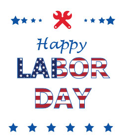 Image Text - Happy Labor Day